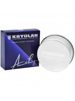 Kryolan Translucent Powder matujący puder transparentny 20g