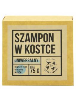 Naturalny szampon zero waste w kostce Cztery Szpaki