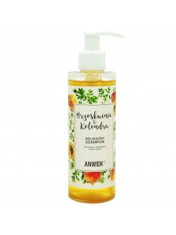 Anwen Brzoskwinia i Kolendra delikatny szampon do włosów 200ml
