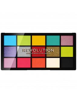 Makeup Revolution Reloaded Euphoria paletka kolorowych cieni 15x1,1g