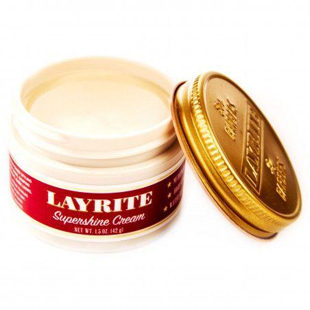 Layrite Supershine Cream nabłyszczający krem do włosów 42g