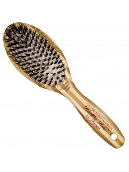 Olivia Garden Healthy Ionic Combo HH P6, szczotka z drewna bambusowego i jonizującą poduszką
