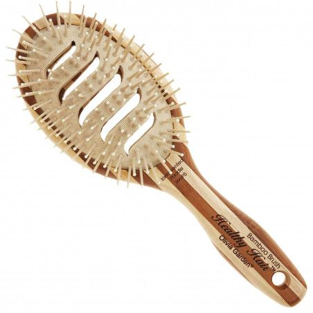 Olivia Garden Healthy Ionic Vented HH P5, antybakteryjna szczotka z mieszanym włosiem