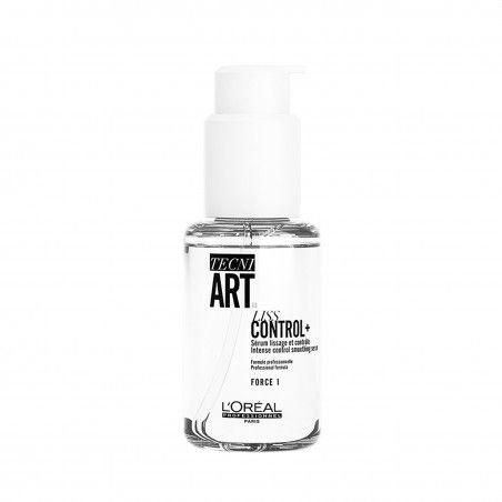 Loreal Liss Control+, Serum wygładzające grube włosy, zawiera filtry UV 50ml