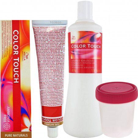 WELLA COLOR TOUCH, zestaw do farbowania włosów 60ml + oxydant 120ml