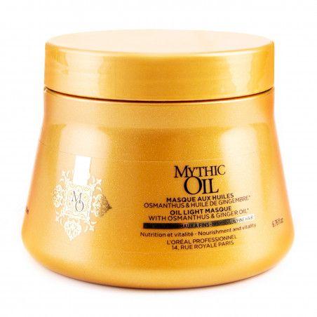 Loreal Mythic Oil, maska pielęgnująca do włosów cienkich, bez parabenów 200 ml