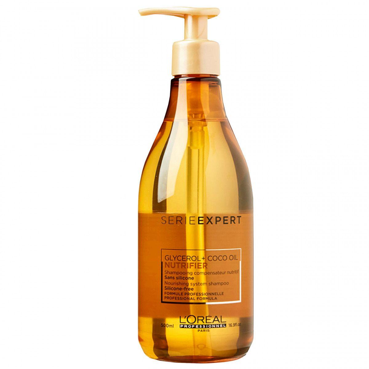 Loreal Nutrifier, szampon bez silikonów do włosów suchych i łamliwych 500ml