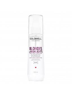Goldwell Blondes Highlights, Spray termoochronny do włosów rozjaśnianych 150ml
