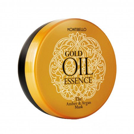 Montibello Gold Oil Essence, maska bursztynowo-arganowa, zapobiega przesuszeniu 200 ml