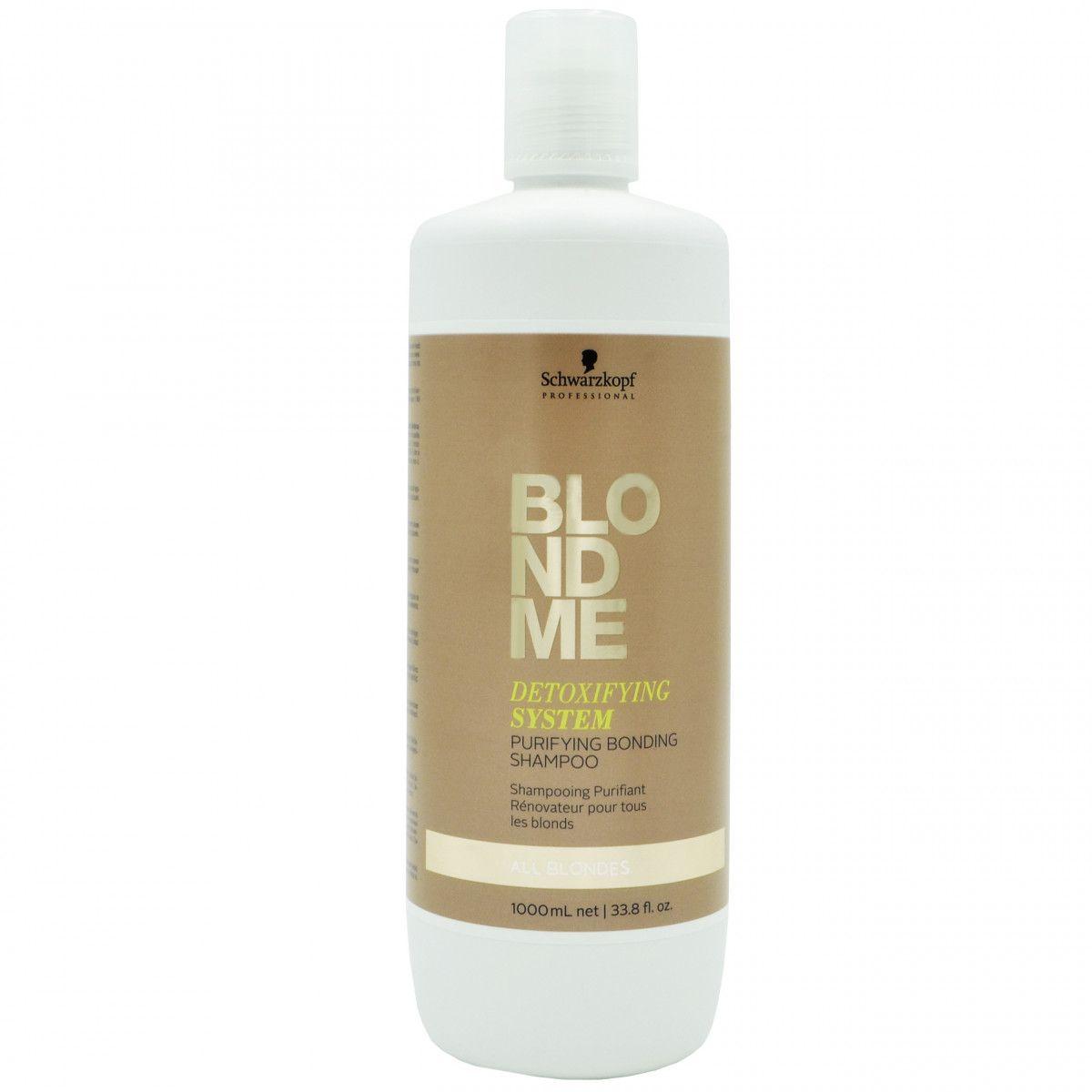 Schwarzkopf BlondMe Szampon oczyszczający do włosów blond 1000ml sklep Gobli