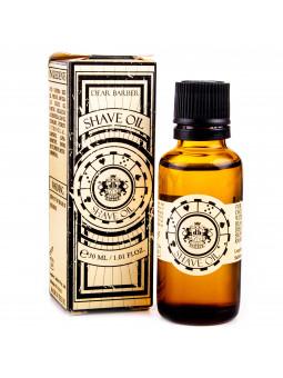 Dear Barber Shave Oil ułatwia golenie, odżywia, nawilża, chroni i zmiękcza skórę 30ml