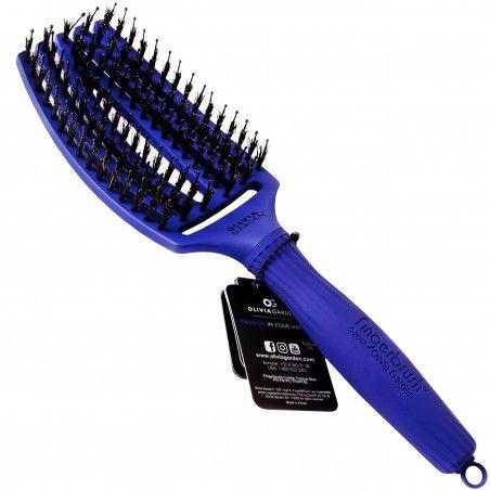 Olivia Garden Finger Brush Tropical szczotka do włosów z włosia dzika