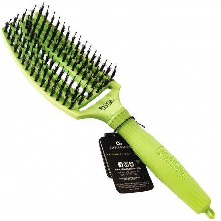 Olivia Garden Tropical szczotka do rozczesywania włosów, włosie dzika