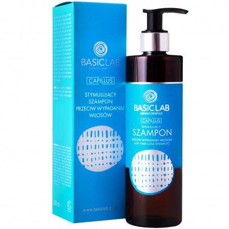 BasicLab Capillus - stymulujący szampon przeciw wypadaniu włosów 500ml