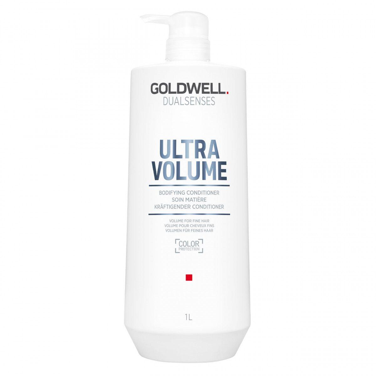 Goldwell Ultra Volume odżywka wzmacniająca włosy normalne cienkie i delikatne 1000 ml