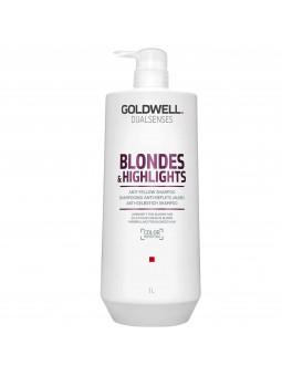 Goldwell Blondes Highlights, odżywka do włosów poddanych zabiegom rozjaśniania 1000ml