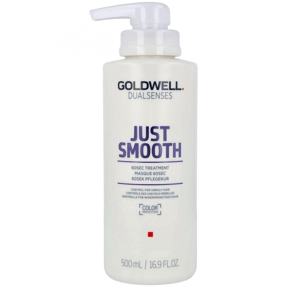 Goldwell Just Smooth 60 sec treatment, maska odbudowuje i wzmacnia włosy 500m