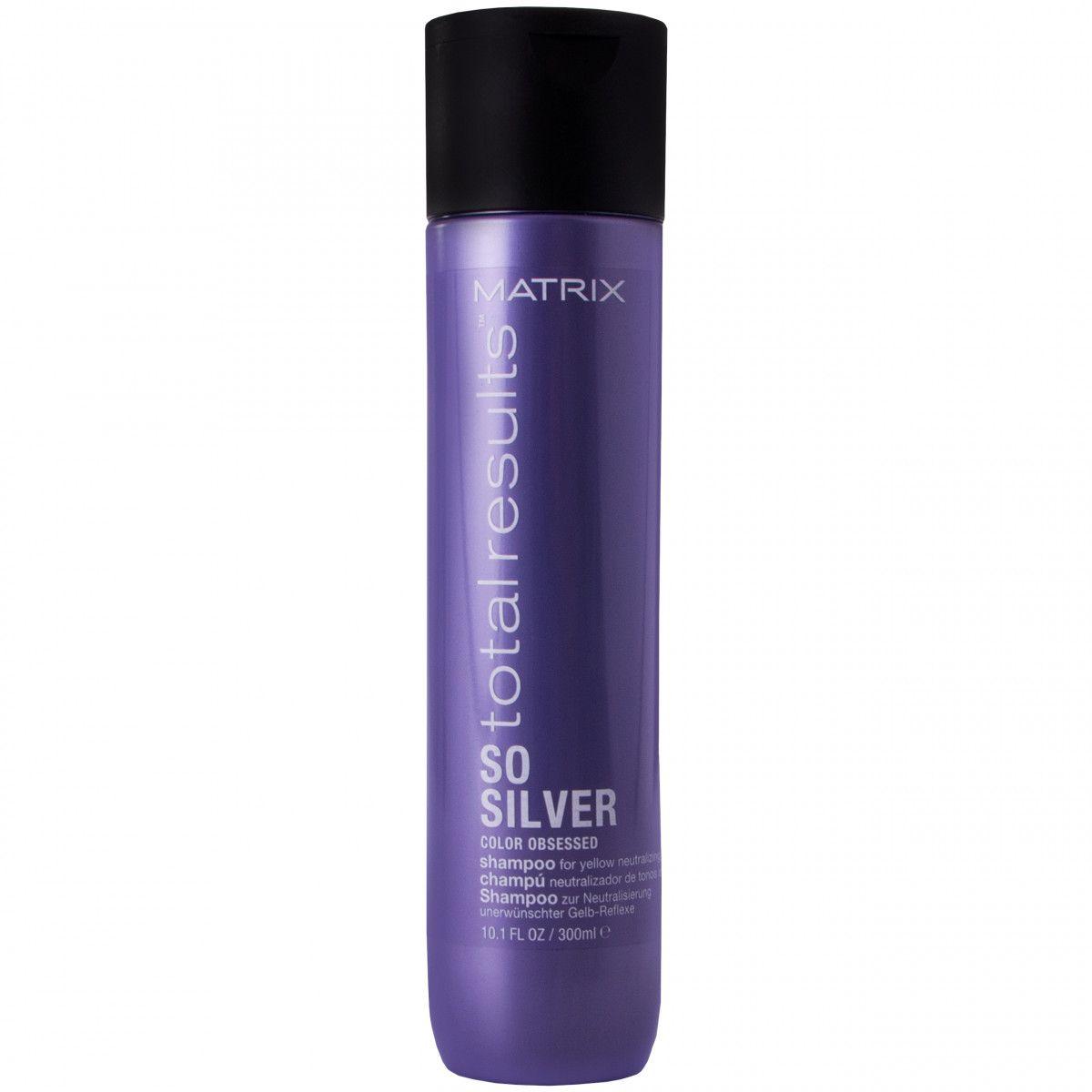 Matrix Color Obsessed Silver Szampon włosów siwych i blond 300 ml