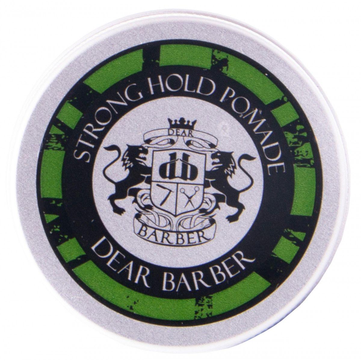 Dear Barber Travel Tin Pomade pasta z naturalnym efektem do stylizacji włosów 20 ml