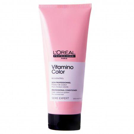 L'oreal Resveratrol Vitamino Color odżywka do włosów farbowanych, przedłuża kolor 200ml