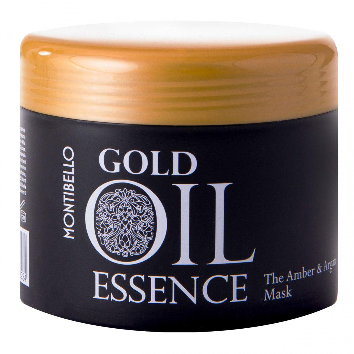 Montibello Gold Oil Essence maska nawilżająca wzmacnia i zapobiega puszeniu 500 ml