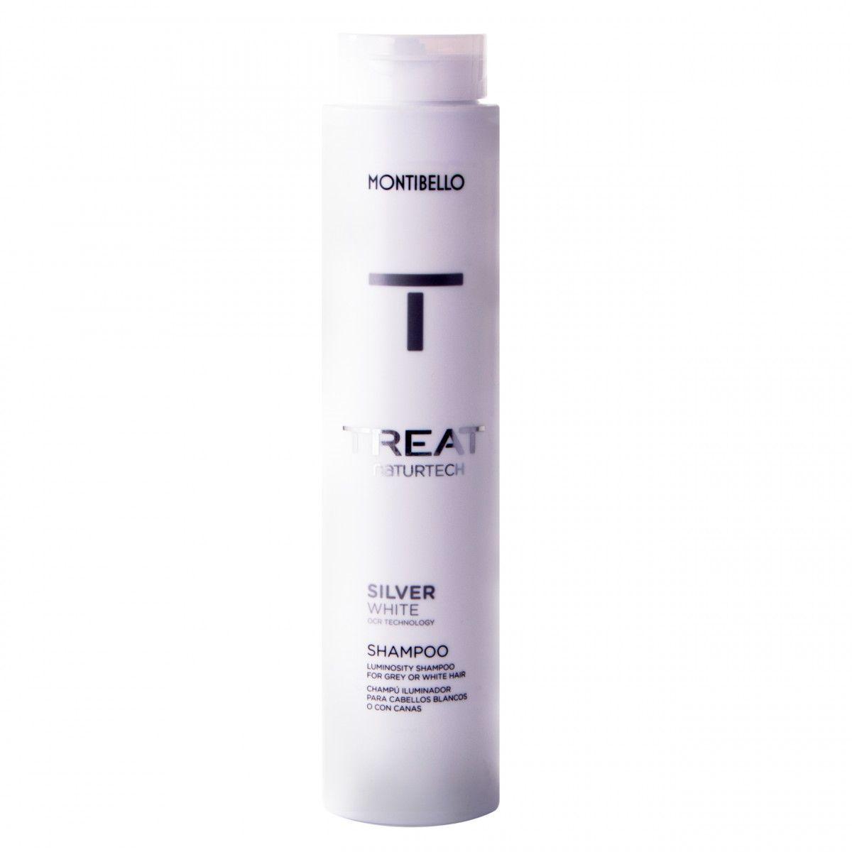 Montibello Silver White szampon niweluje żółte tony nadaje blask 300 ml
