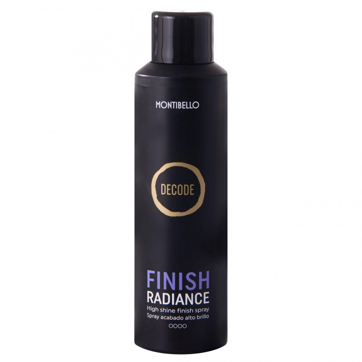 Montibello Finish Radiance spray nabłyszczający do włosów 200 ml