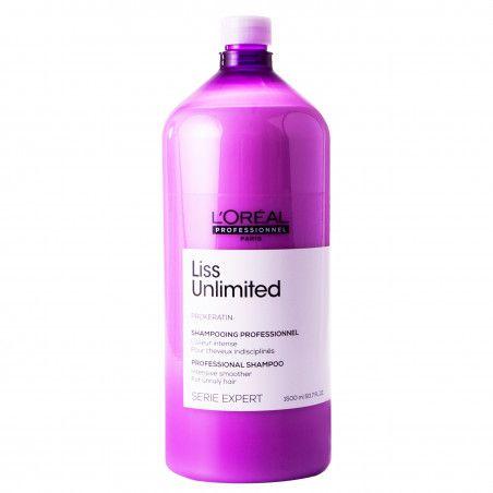 Loreal Liss Unlimited, szampon intensywnie wygładzający i odbudowujący włosy 1500ml