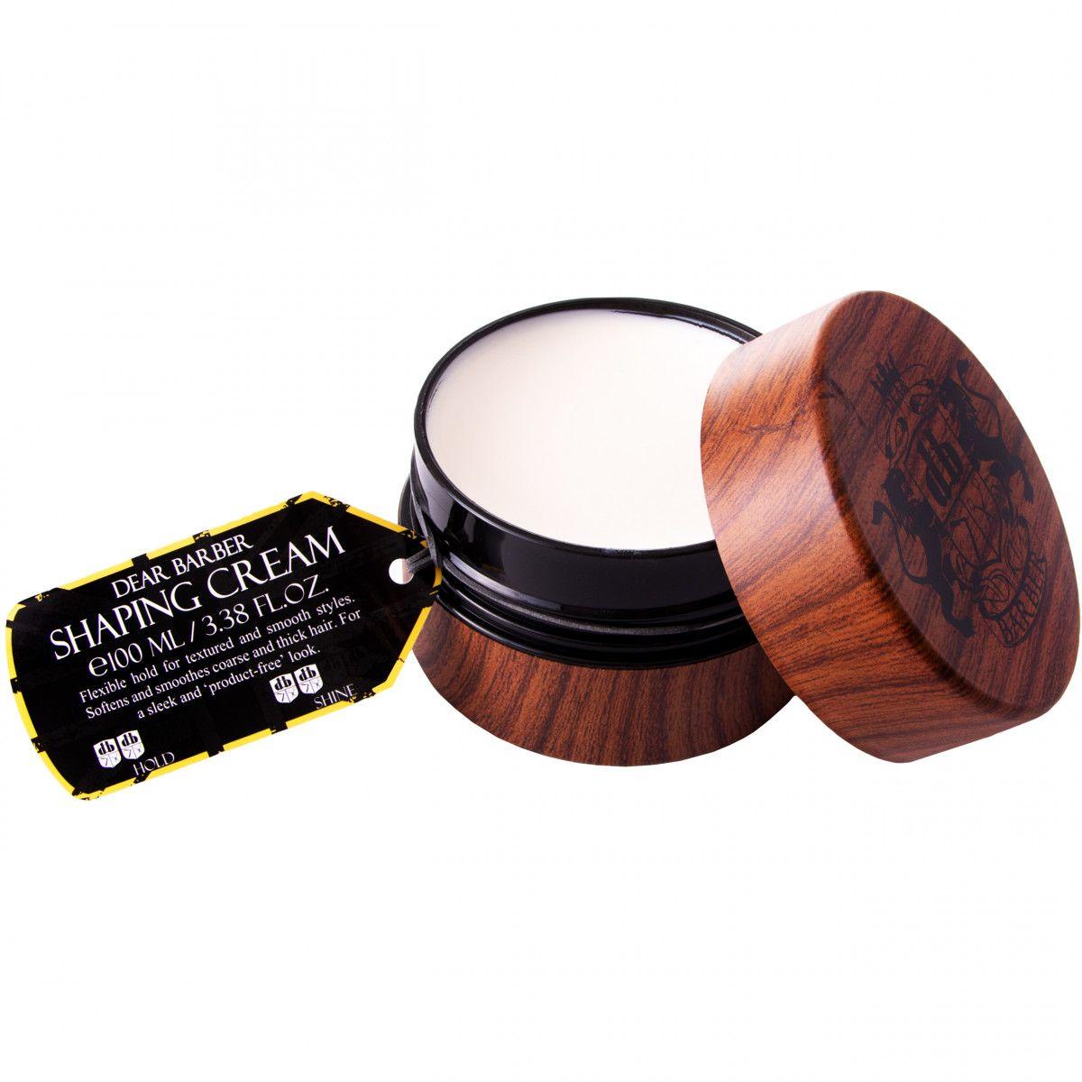 Dear Barber Shaping Cream krem do stylizacji brody z efektem matowego wykończenia 100ml