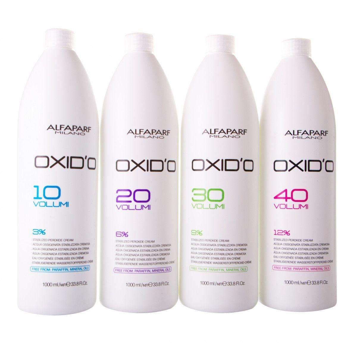 Alfaparf Oxido oxydant w kremie 1000ml 3%, 6%, 9% lub 12% 1000ml