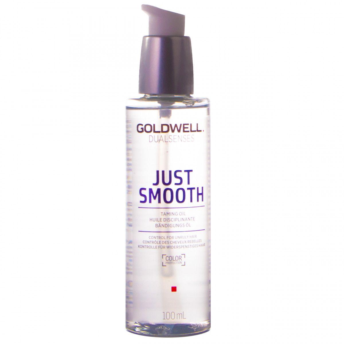 Goldwell Just Smooth, olejek wygładzająco-nawilżający do włosów cienkich 100ml