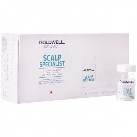 Goldwell DLS Scalp Anti Hairloss, Serum pobudzające wzrost włosów 8x6 ml