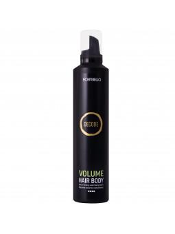 Montibello Volume Hair Body, mocna pianka nadająca objętości, utrwala oraz nawilża 300ml