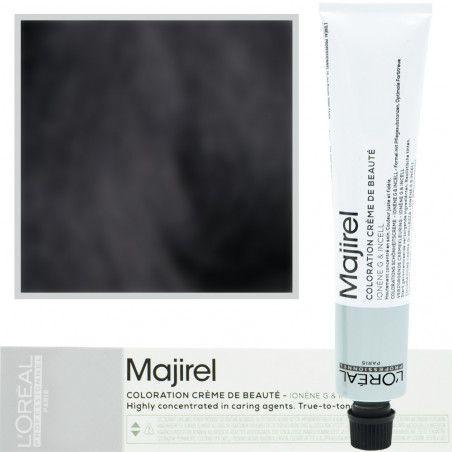 Loreal Majirel, krem koloryzujący, farba kolor 1 czarny