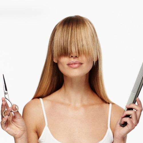jak obciąć grzywkę w domu, jak obciąć samemu włosy?